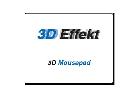 Mousepad mit 3D Effekt