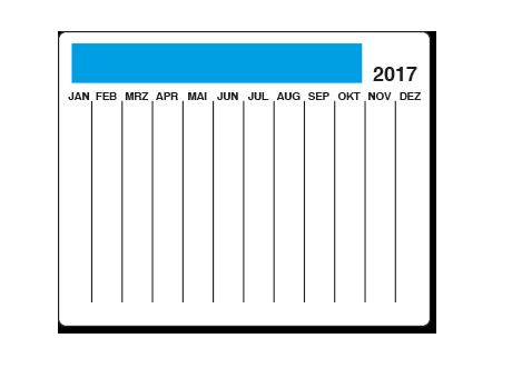 Mousepad mit Kalendarium