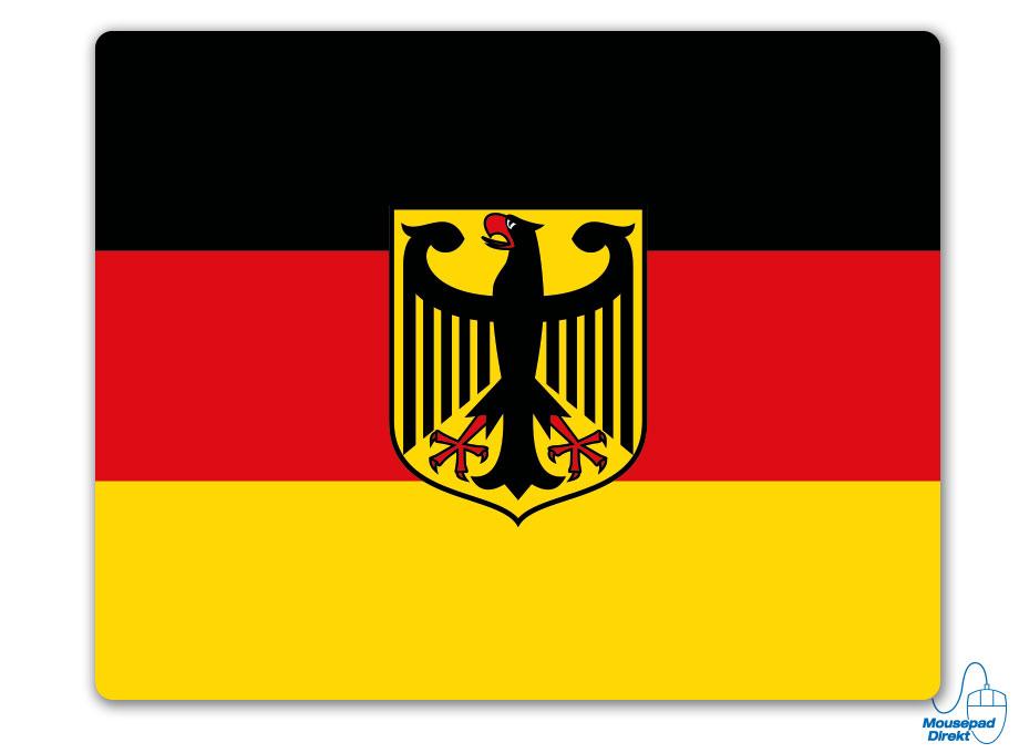 Deutschland Flagge Mousepad
