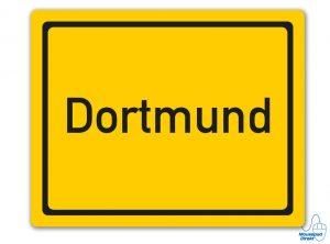 Ortsschild Dortmund Mousepad