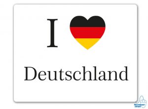 I love Deutschland Mousepad