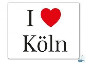 I love Köln Mousepad