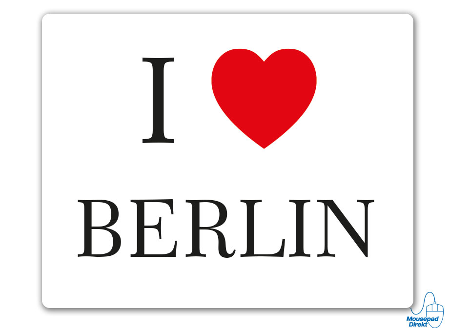 I love Berlin Mousepad