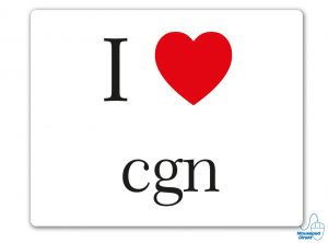 I love cgn Mousepad
