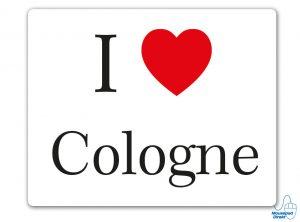 I love Cologne Mousepad