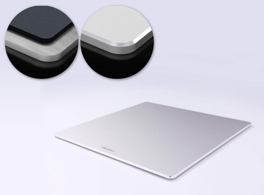 Mousepad aus Alumnium