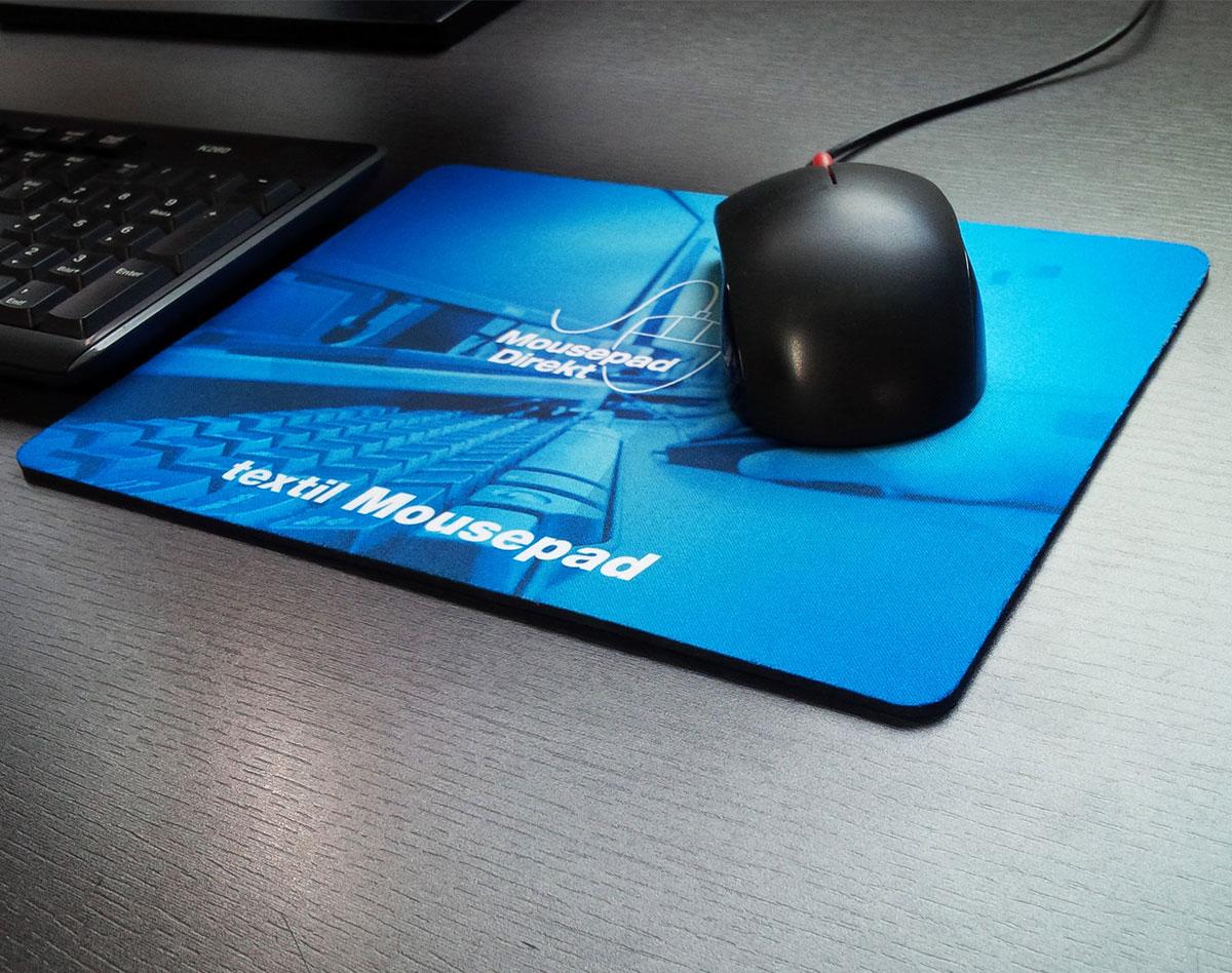 Textil Mousepad bedruckt