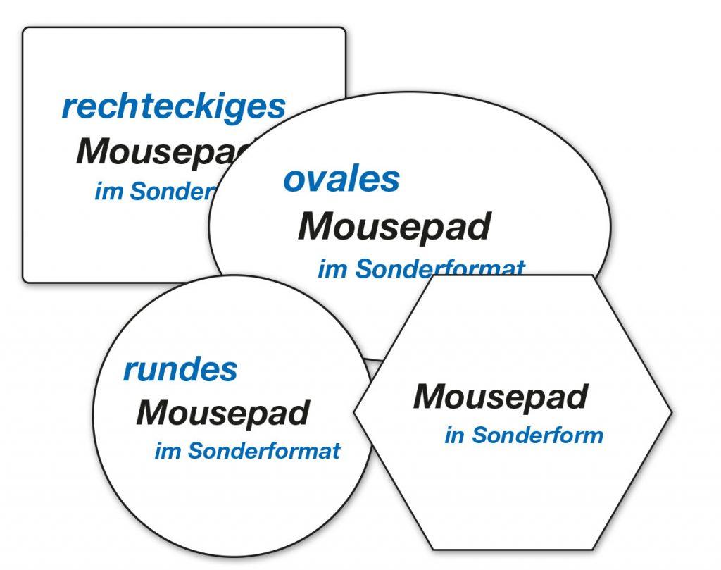 Mousepads nach Maß
